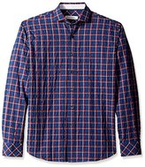 James Campbell Men's Atias Plaid Sport Shirt