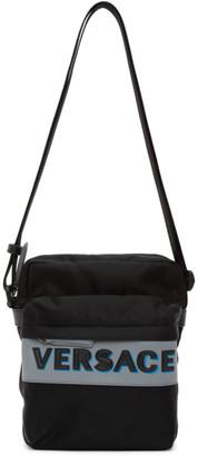 Versace Black Olimpo Crossbody Bag