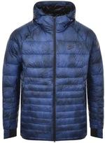 Nike Printed Down Jacket Blue