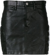 Junya Watanabe Comme Des Garçons - mini skirt - women - Leather - S