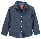 Joe Fresh Chambray Shirt (Toddler & Little Boys)