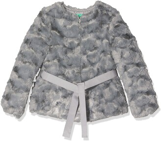 Benetton Girl's Indigo G3 Coat