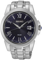 Seiko Le Grand Sport Mens Stainless Steel Solar Sport Watch SNE395
