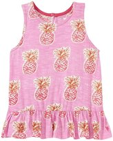 Pink Chicken Joy Top (Toddler/Kid) - Pineapple - 5 Years