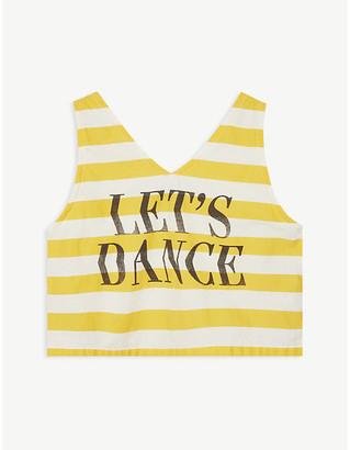 "Bobo Choses Lets Dance"" sleeveless cotton T-shirt 4-11 years"