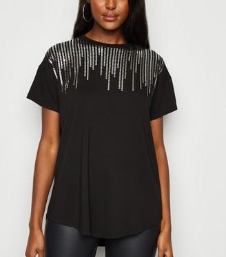 New Look Sequin T-Shirt
