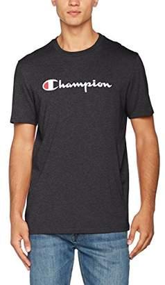 Champion Men's Classic Logo T-Shirt, White (Vapy)