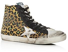 Golden Goose Unisex Francy High-Top Sneakers