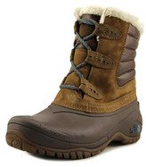 The North Face Shellista Ii Shorty Women Round Toe Synthetic Brown Snow Boot.