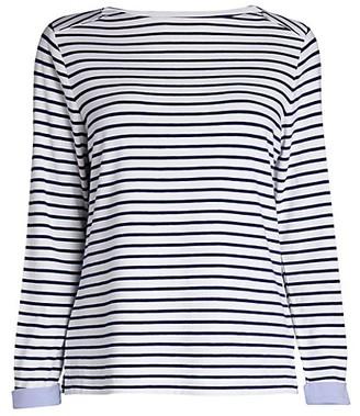 Anne Klein Breton Stripe T-Shirt