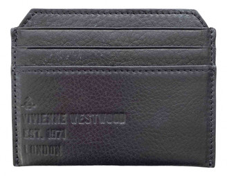 Vivienne Westwood Black Leather Small bags, wallets & cases