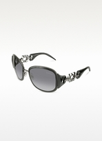 Roberto Cavalli Dalia - Zebra Temple Sunglasses