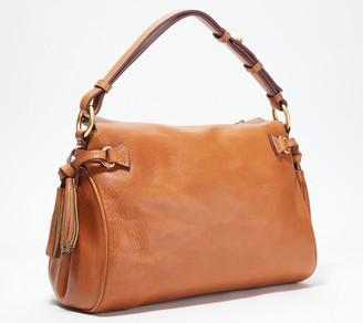 Dooney & Bourke Medium Florentine Leather Zip Hobo