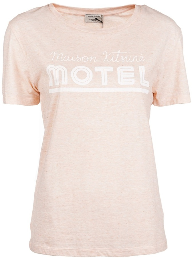 Kitsune Maison Motel t-shirt