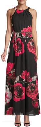 Ignite Evening Embellished Floral Gown