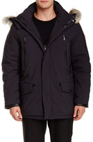 Tumi Genuine Coyote Fur Trimmed Fully Loaded Parka