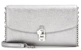 Dolce & Gabbana Dolce Pochette Metallic Leather Shoulder Bag