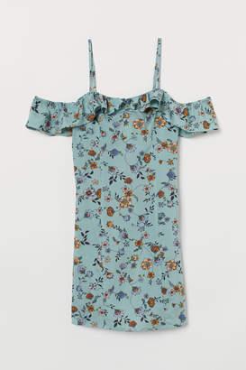 H&M Cold shoulder dress