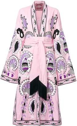Yuliya Magdych Delight embroidered dress