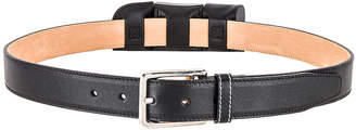 Loewe Pocket Belt in Black | FWRD