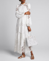 Zimmermann Bonita Crochet Long Dress