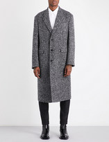 Jil Sander Newton single-breasted wool-blend coat