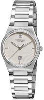 Victorinox Women's 241521 Victoria Analog Display Swiss Quartz Silver Watch