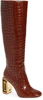 Tory Burch Jessa Hardware Heel Knee High Boot