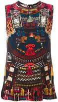 DSQUARED2 'Samurai' print tank top