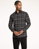 Le Château Check Print Cotton Tailored Fit Shirt