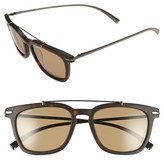 Salvatore Ferragamo Men's 54Mm Sunglasses - Matte Havana