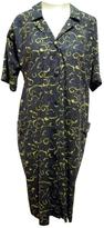 Saint Laurent Grey Cotton Dress