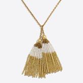 J.Crew Factory Double tassel pendant necklace