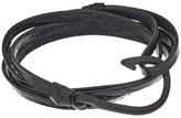 Miansai Noir Hook on Leather Bracelet Bracelet