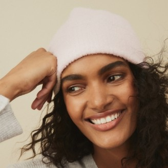 The White Company Boucle Hat with Wool, Pink, One Size