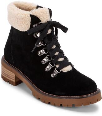 Blondo Melissa Faux Shearling Cuff Waterproof Boot