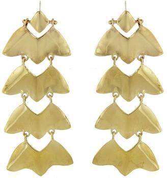 ARIANA BOUSSARD-REIFEL Carnival Brass Drop Earrings