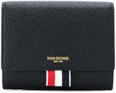Thom Browne logo tab wallet
