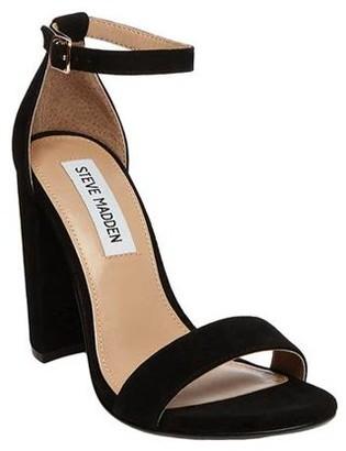 Steve Madden Carrson Suede Heeled Sandal (Women's)
