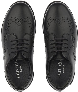 Start Rite Start-rite Brogue School Shoes - Black