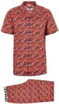 Topman Red 'See Me Rollin' Sushi Pyjamas