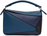 Loewe Tricolor Small Puzzle Bag
