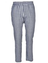 MSGM Checked Tapered Trousers