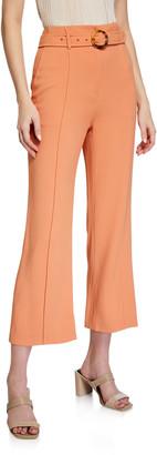 Jonathan Simkhai Florence Crepe Cropped Pants