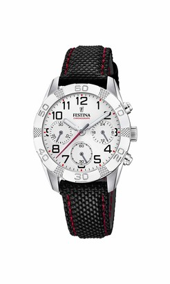 Festina Boys Chronograph Quartz Watch with Textile Strap F20346/1