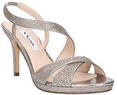 Nina Brilyn Embellished Crisscross Slingback Sandals