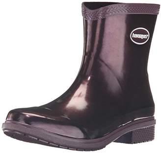 Havaianas Women's Galochas Low Metallic Rain Boots