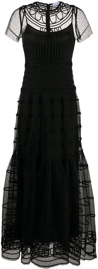 RED Valentino Full-Length Tulle Dress