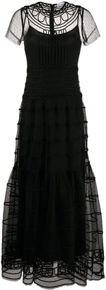 RED Valentino Full-Length Tulle Dress