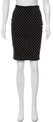 Michael Kors Embellished Pencil Skirt